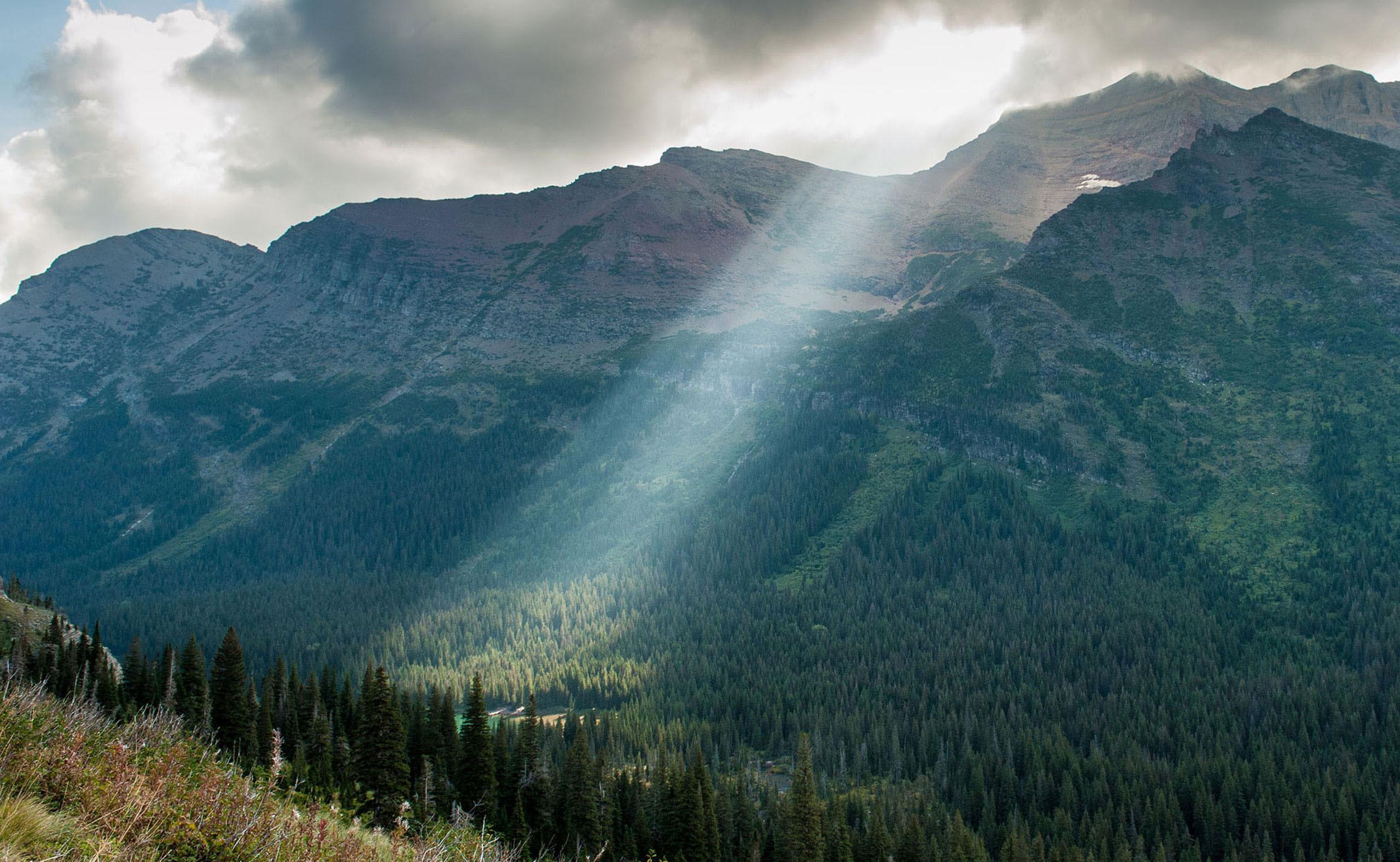 Scenic view of Montana